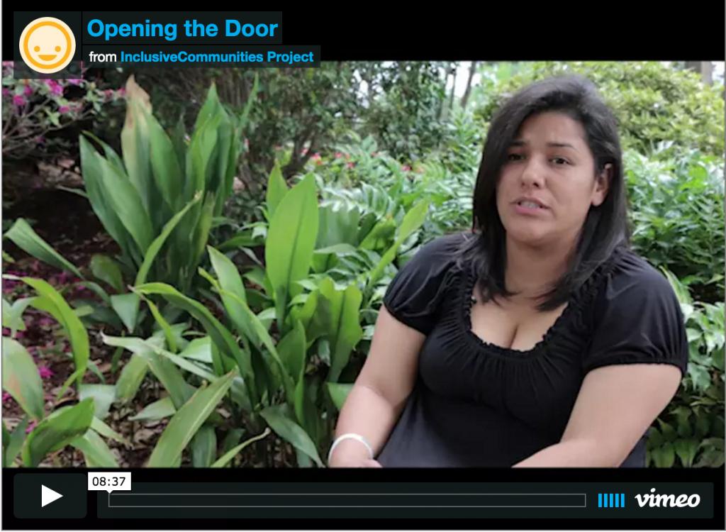 Opening the Door Inclusive Communities Project Video